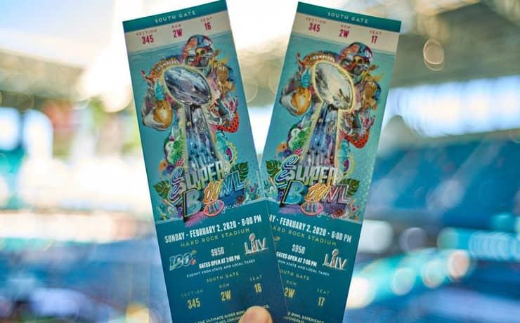 Super Bowl LV free Tickets